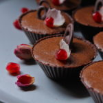 Easy Chocolate Mousse Cups with Rosewater & Cacao Bitters